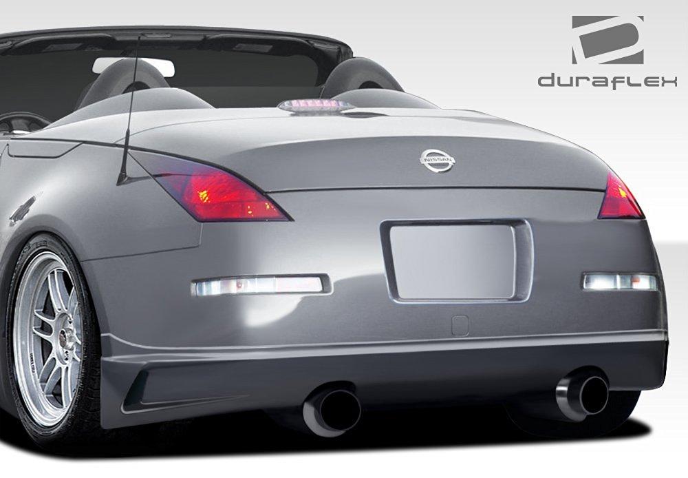 Get Quotations · 2003 2008 Nissan 350Z Duraflex J Spec Rear Lip Under  Spoiler Air Dam