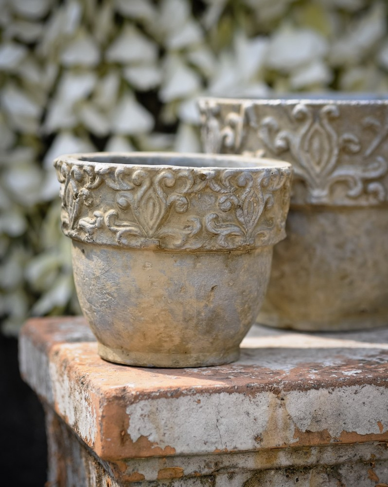 2017 H346 rustic terra cotta pot planters Chaozhou pottery