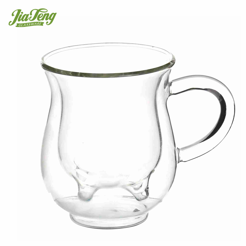 250ml Oem Milk Double Wall Cow Udder Glass Cup Heat Resistant Glass Cup Hot Water Glass Cup Buy Handmade Glass Cup Unbreakable Glass Cups Double