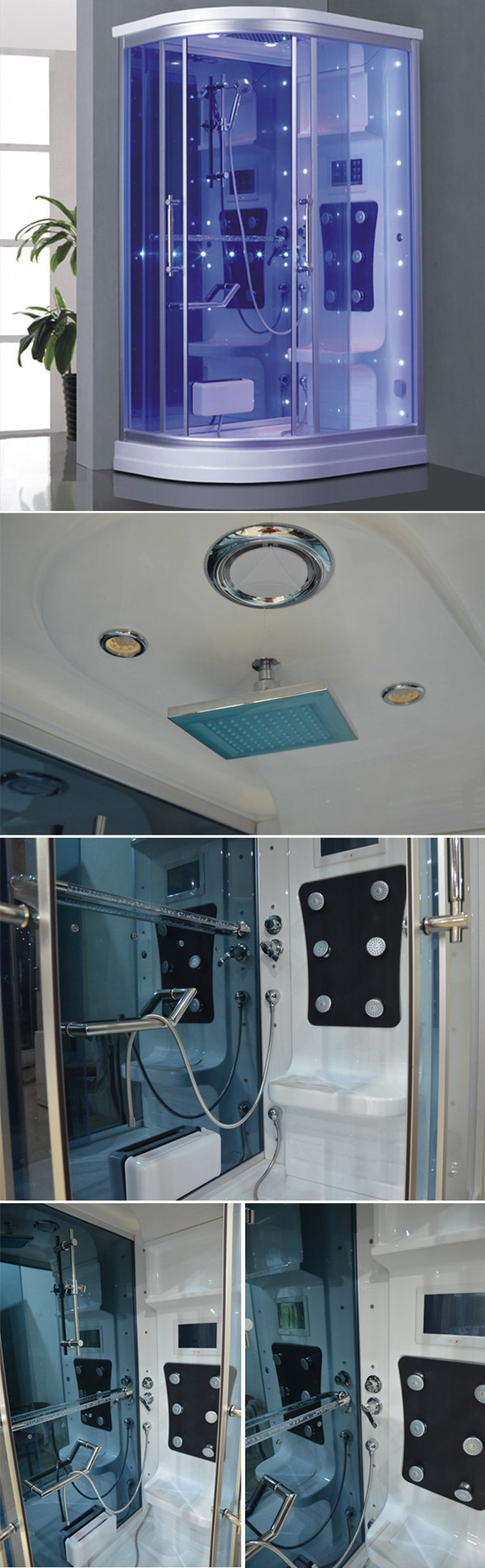 HS-SR010 Steam shower room cabin/ Massage steam shower room / 1 person steam room