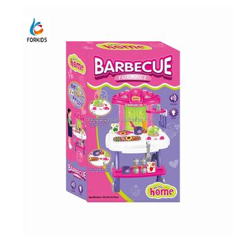 De Conjunto Sonidos Y Para Juguete Con Juego Buy juego Barbacoa Niños Cocina Luces Barbacoa niños 1FlTKJc3