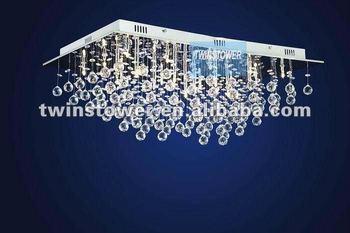 Plafoniere Con Gocce Di Cristallo : Elegante cristallo goccia plafoniera lampadario piazza buy product