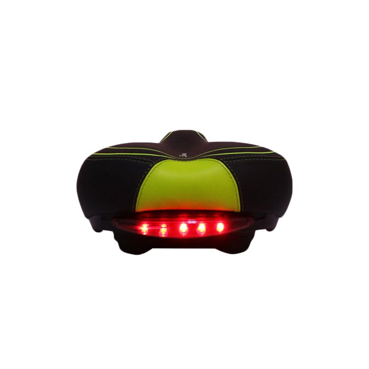Soft and comfortable bike seat bicycle saddle bike seats with LED light