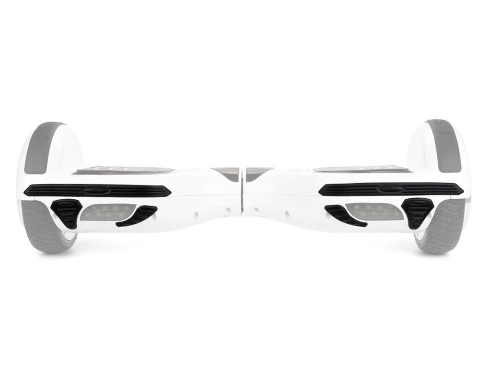Scoovy Black Front and Back Bumper for Hoverboard / 2 Wheel Self Balancing Scooter - One Set Protective bumpers