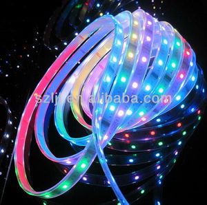 Multi color led decorative light TM1803 5050 rgb flexi led strip