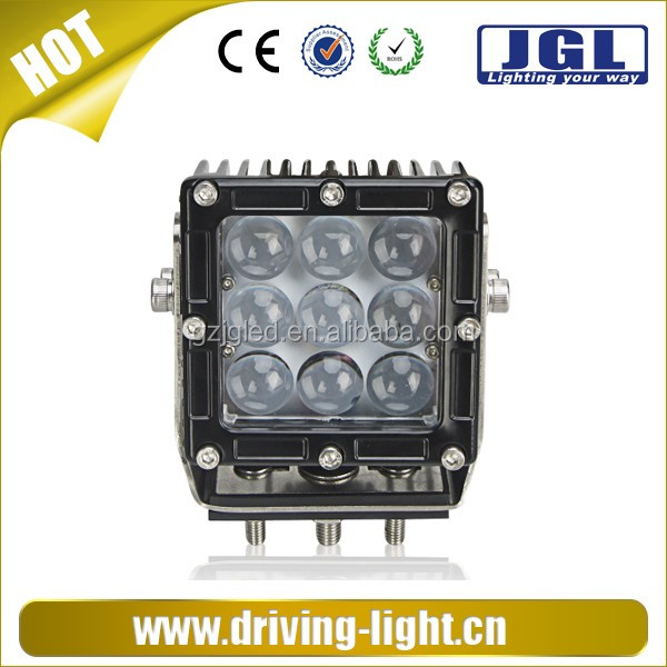 China led 2016 Waterproof 45W led driver 9x 5W High Intensity LED Work Light Cree Car Offroad LED Head Lamp Light