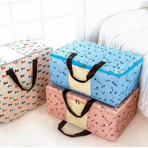 high quality custom quilt 600D storage bag painting storage bags storage