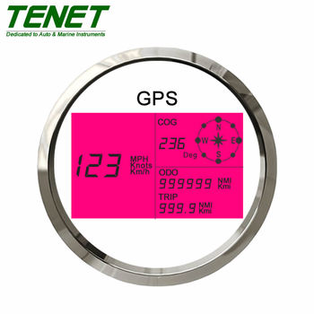 Digital GPS Speedometer for Marine Boats Trucks Bus 85mm Universal