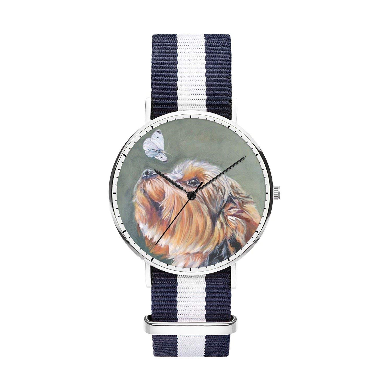 FELOOWSE Girls Watches, Women Watches, Sliver Slim Minimalist Imported Japanese Quartz PracticalWaterproof Unique Personalized Youth Fashion Design Cute Watches for Women.- Gold