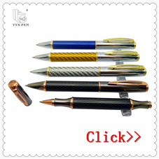 Custom factory direct carbon fiber signature pen gift pen gift metal ball pen