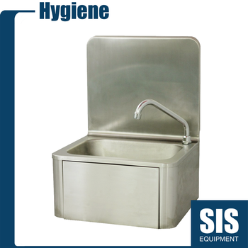 Commercial Stainless Steel 304 Kitchen Brushed Hand Wash Basin Sink With  Faucet In China - Buy Hand Wash Sink,Kitchen Sink With Faucet,Brushed  Kitchen ...
