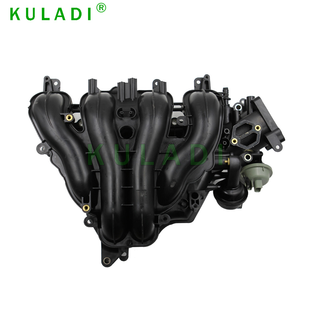 Plastic Air intake manifold for 2010-2013 Mazda 3 2.0L L4 Without Skyactiv OEM: LF8J-13-100A