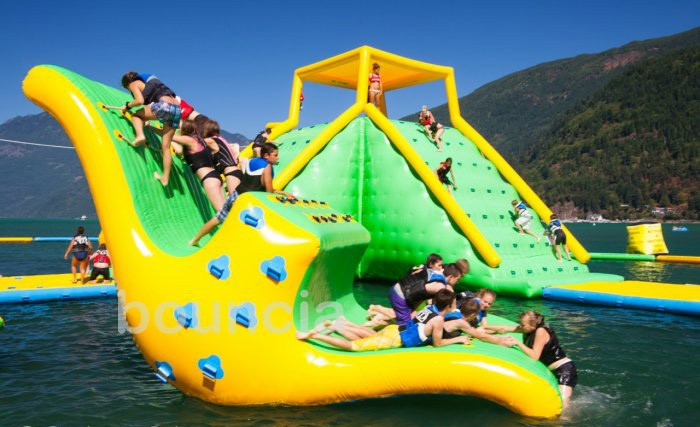 Giant Inflatable Water Toys, Inflatable Water Play Equipment, Harrison Big  Inflatable Water Park For