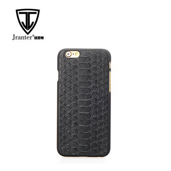 Luxury Customized Logo Python Skin Mobile Phone Case Cover Shell