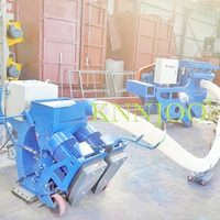 KNNJOO - Portable Type Wheel Sand Blasting Machine