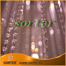 Wedding shimmer backdrop wedding crystal glass beaded curtains