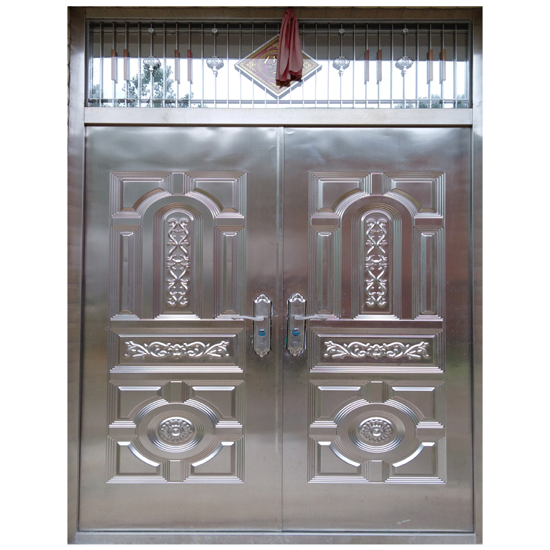 Merveilleux Stainless Steel Safety Entrance Gate Main Double Door Stainless Steel   Buy  Door Stainless Steel,Front Double Door Designs,Stainless Steel Security ...