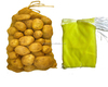 hdpe mono mesh drawstring bag for fruit and vegetable