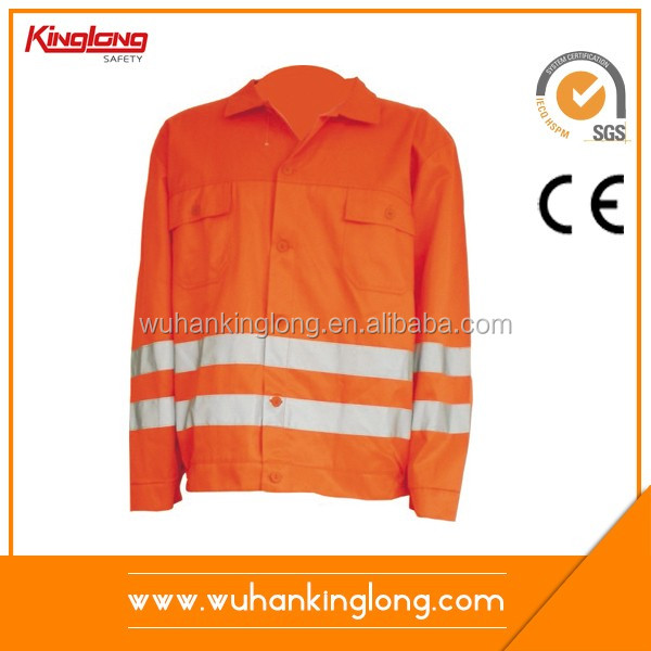 Wholesale cotton fireproof work wear offshore clothing army jacket