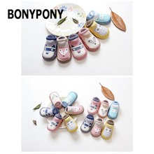 BONYPONY CPT1400 Baby kids antislip ankle shoe socks