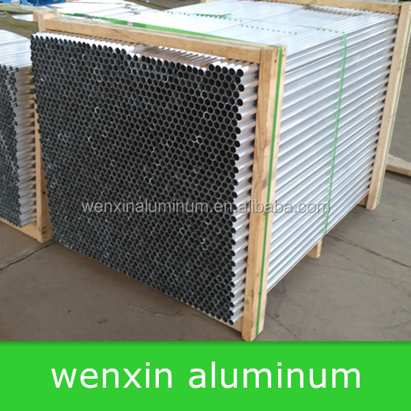 Brushed aluminium tube/aluminum square tube,aluminum price per ton