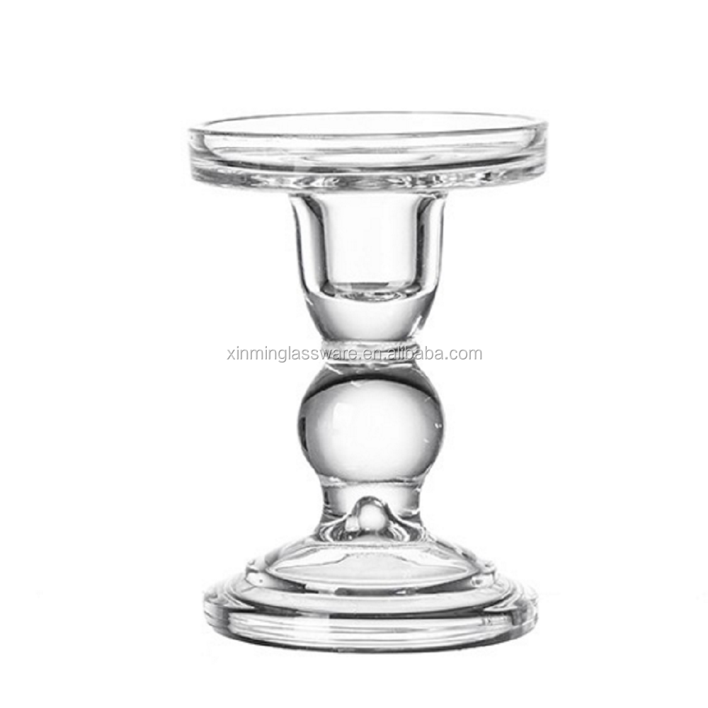 FALAJA factory new design decorative glass candle holder for wedding