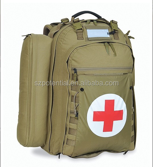 Tactical Medical Backpack First Aid IFAK Utility backpack Combat Medicine Kit Emergency Bag