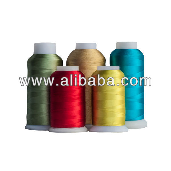 Dyed Rayon Embroidery Thread