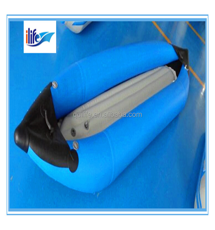professional new rowing inflatable canoe with engine