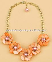 2012 New Arrival Flower Necklace