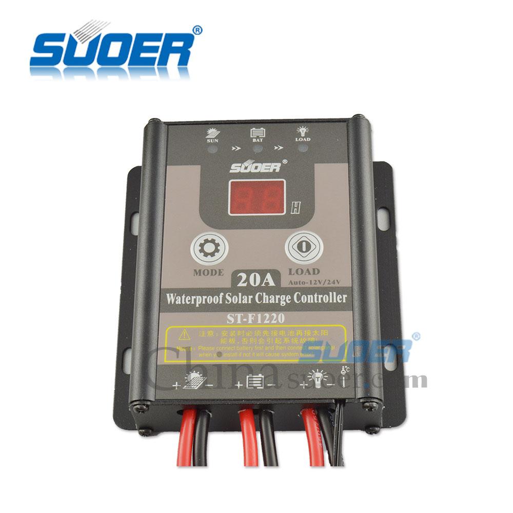 20a 12v/24v Solar Panel Charge Controller Battery Regulator Safe Protection Yy Laderegler