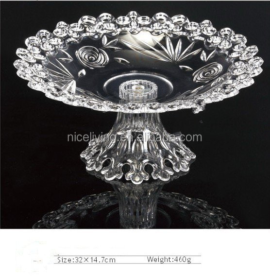 wholesale clear plastic fruit bowls plate Decorative Fruit Candy Plate