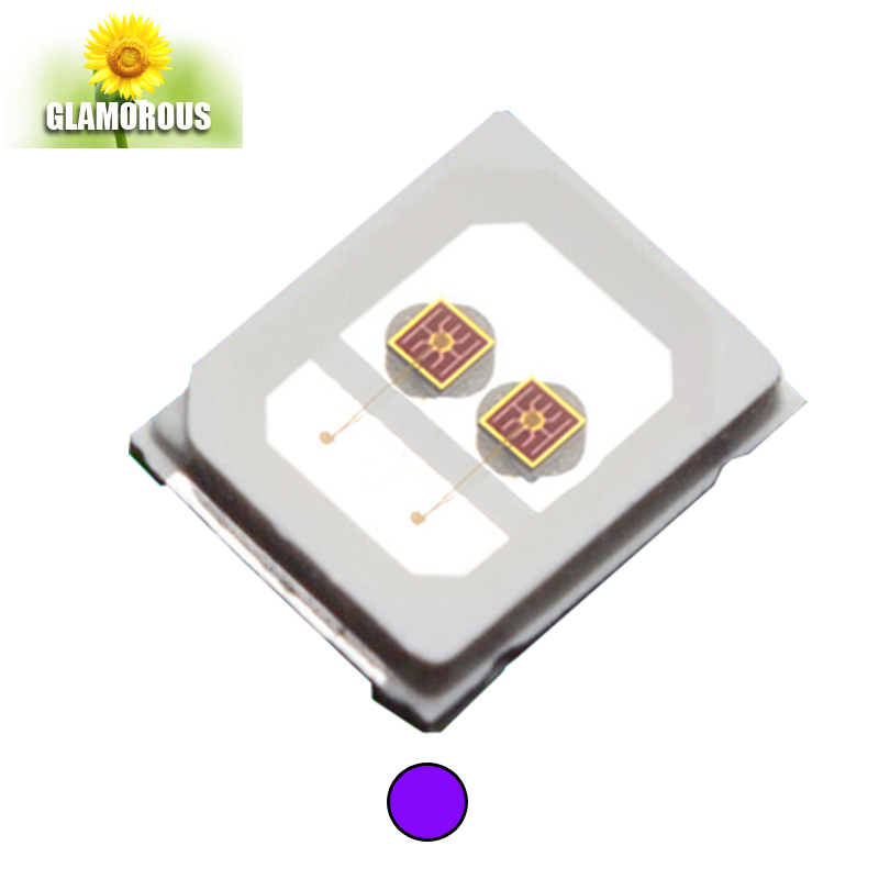 Free sample smd led surface mount diode 360nm 450nm 590nm 620nm 660nm 730nm smd 2835 led chip for plant growth