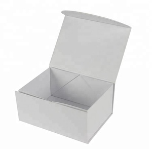 white folding apparel lingeries packaging paper box