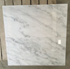 Polished White Marble Interior Wall Stone Decoration
