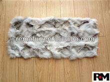 100% Genuine Scrap Fox Fur Plates for home decoration