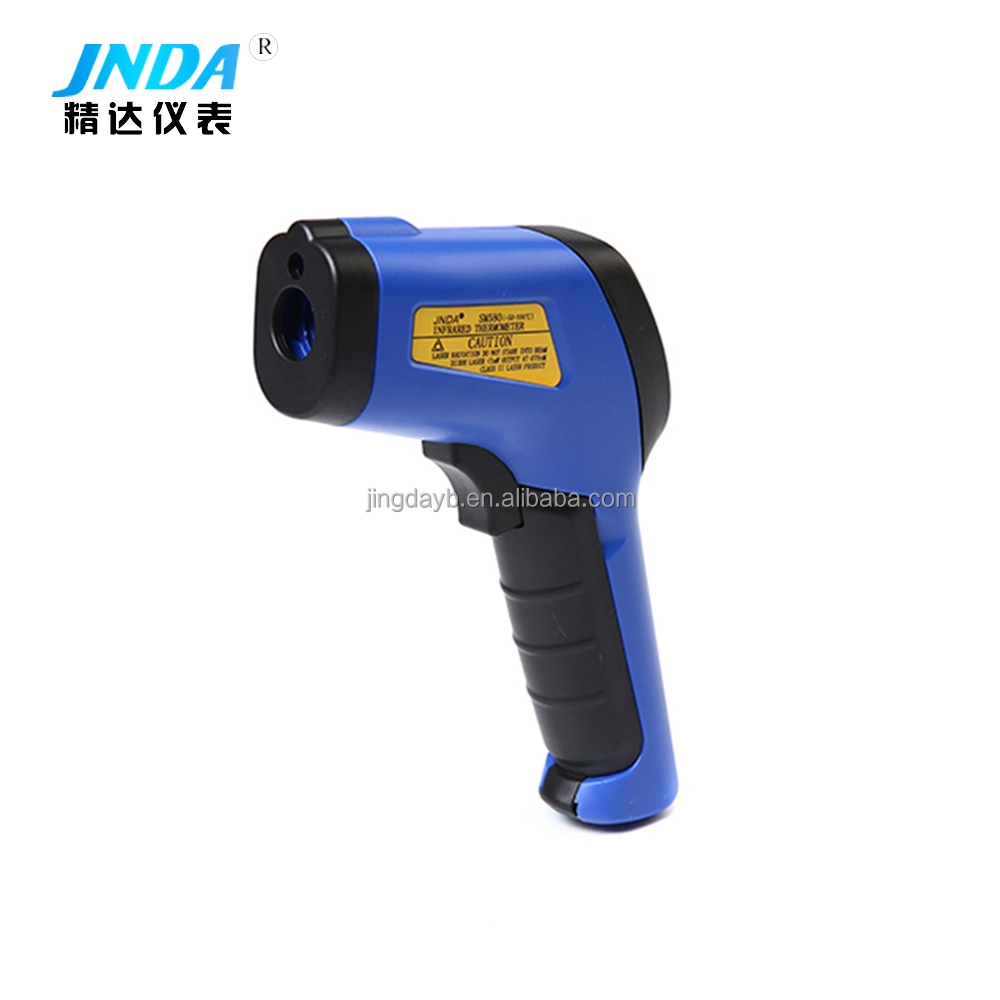 Fast response gun type LCD display infrared thermometer for measuring body temperature - KingCare | KingCare.net