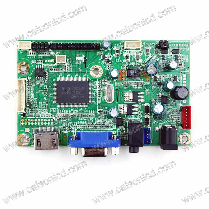 HDMI + VGA + Audio TFT LCD controller board support lcd panel 와 1920x1200, TFT LCD controller board