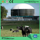 Biogas digester anaerobic fermentation tank with gas holder for biogas plant to generate heat cooking fuel electircy power