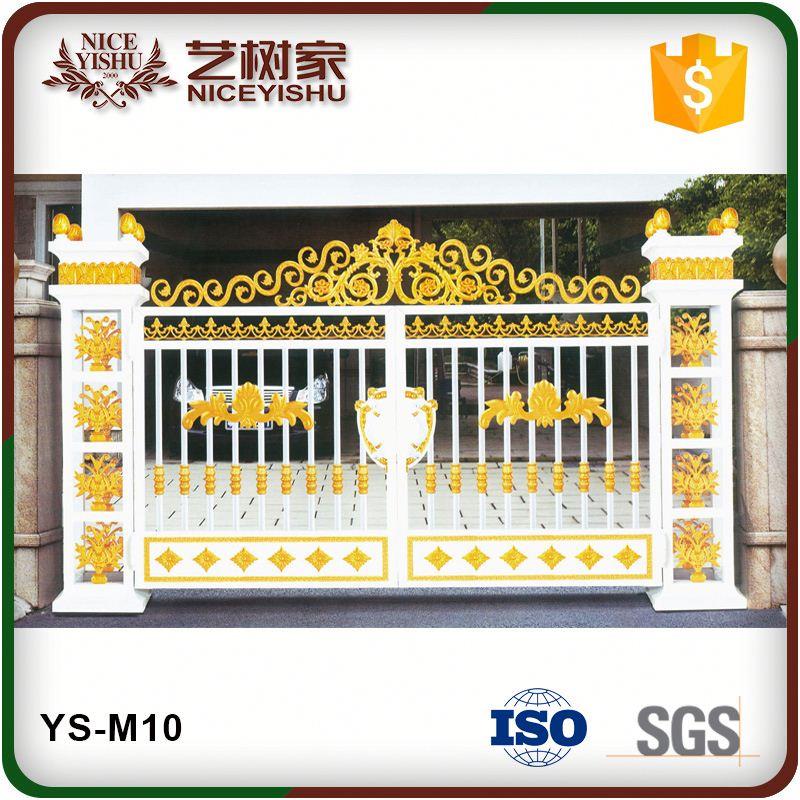 Alibaba China Supplier Main Gate Design/aluminum Driveway Gate Ys ...