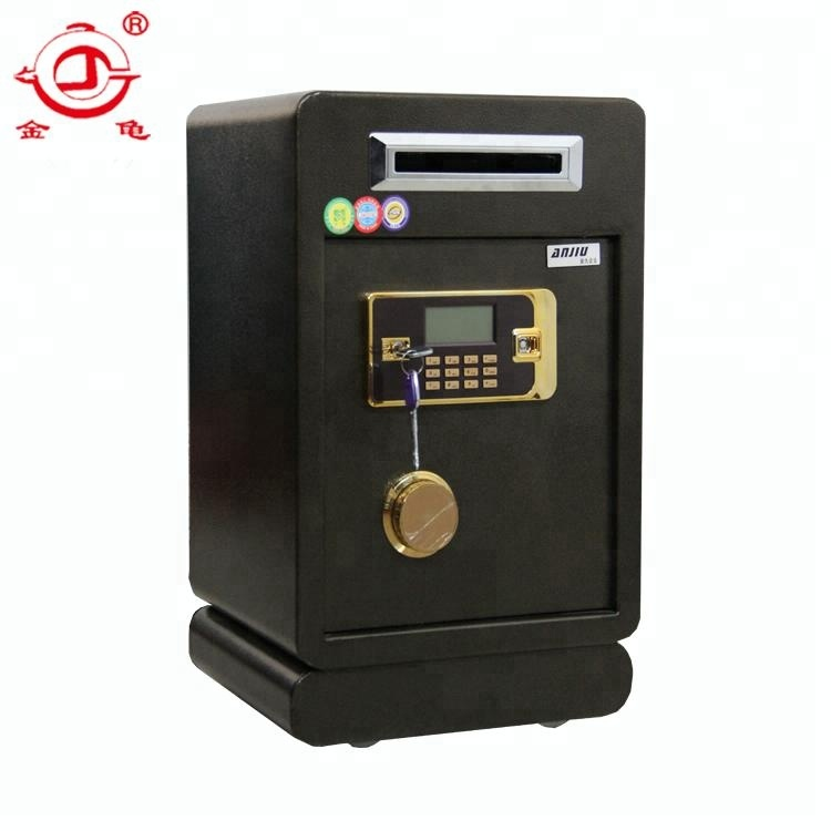 reliable security electronic steel coin storage cabinet