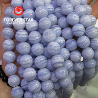 Natural Agate Beads Blue Lace Agate Bead Blue Chalcedony
