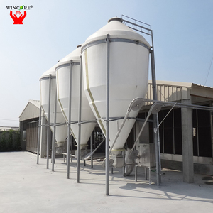 Best selling durable small hopper feed storage silo with loading