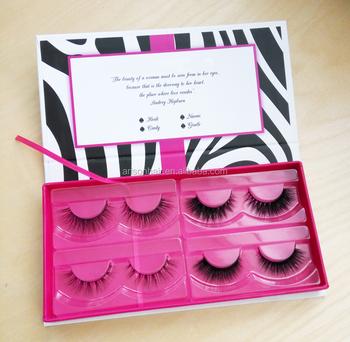 3e83f92b4f2 Hot sale handmade luxury mink fur lashes packaging box, custom lashes  packaging mink lashes