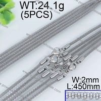 Guangzhou Fashion mens silver stainless steel chain necklace
