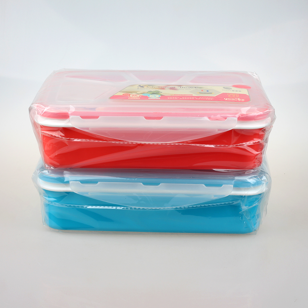 Bpa Free Microwave Safe Plastic Tiffin Lunch Box For Kids ...