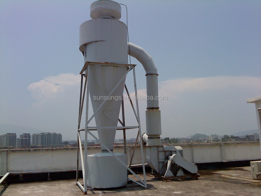 Wood Sawdust Cyclone Dust Collector Dust Extractor Cyclone