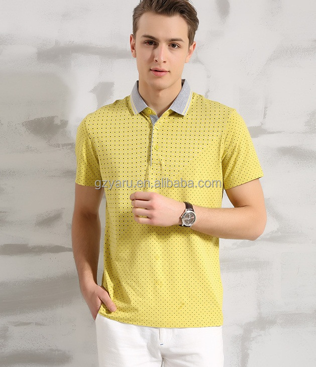 f72eb6e1f877e1 Polo T-shirt With Horse T-shirts Wide Neck Casual Men Half Sleeve T ...