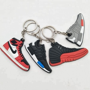 696df28fbd17f6 Pvc Rubber Shoes Keychain