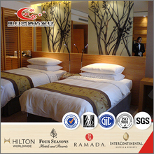 lacquered wood veneer made hotel bedroom furniture